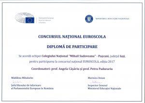 diploma euroscola